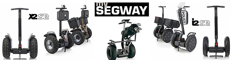 SEGWAY Varianten I2 X2 und Golf